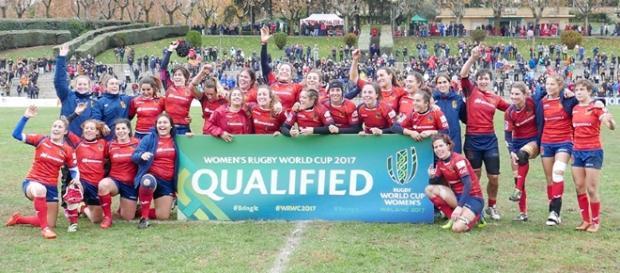 Las 'Leonas' firman su clasificación para la Women's Rugby World Cup 2017. Foto FER