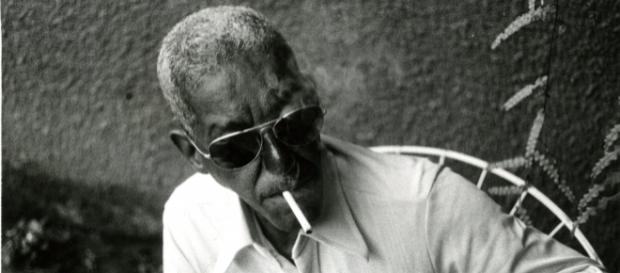 O compositor na década de 70. Fonte: não identificada