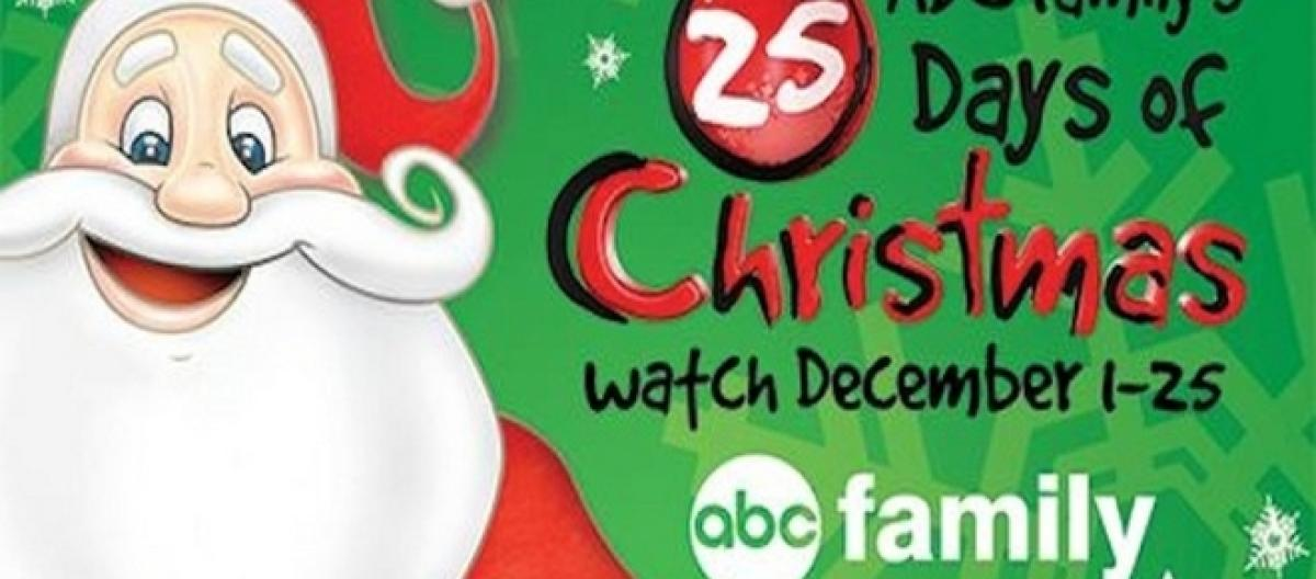 freeforms 25 days of christmas is almost here