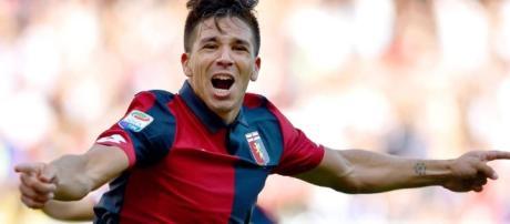 Giovanni Simeone marca su primer gol en Italia - lavanguardia.com