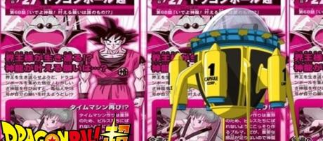 The Time Machine created by Bulma. from dragonball.wikia