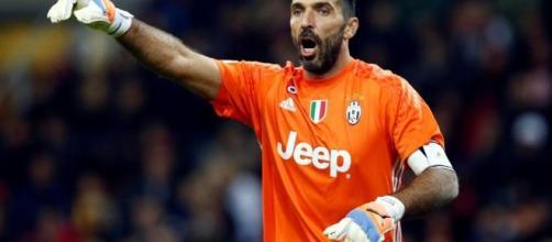 Buffon portiere della Juventus