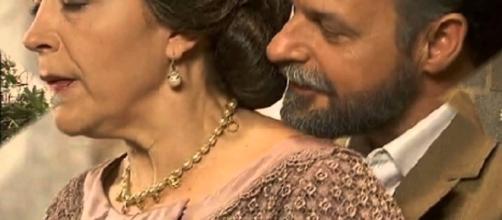 Donna Francisca a Il Segreto soap.