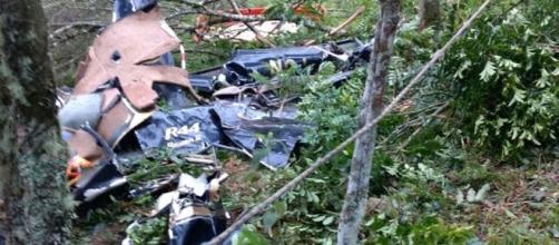 Helicóptero cai em São Lourenço da Serra e 4 pessoas morrem