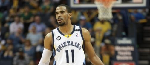Mike Conley and the Grizzlies host the Hornets Monday night. [Photo via Flickr Creative Commons]
