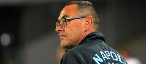 Voti Napoli-Sassuolo Fantacalcio Serie A: Maurizio Sarri - foto diariopartenopeo.it