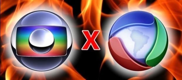 Globo e Record são grandes emissoras rivais