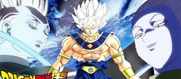 Goku as a God of Dragon Ball Super. screencap via Dragon Ball YouTube