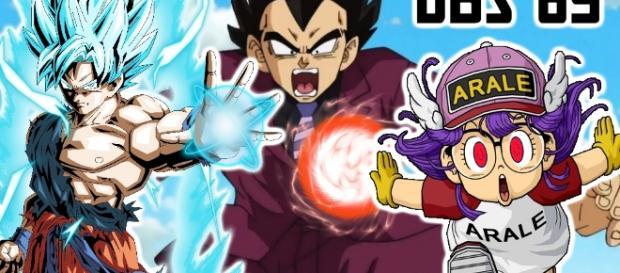 La victimisation de Végéta de retour? Goku Super Saiyan Blue contre Aralé !