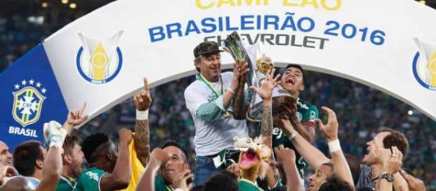 Palmeiras é campeão, 22 anos depois