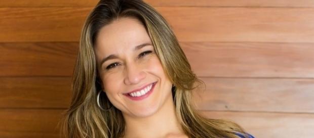 Show de Daniela Mercury empolgou apresentadora