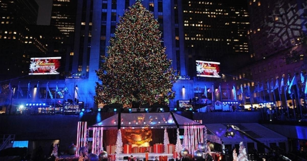 Watch NYC Christmas tree lighting online, mobile, NBC TV live from Rockefeller Center