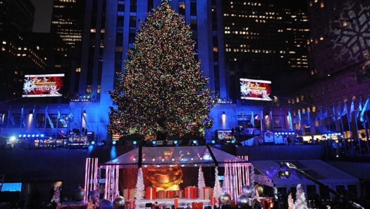 Watch Nyc Christmas Tree Lighting Online Mobile Nbc Tv Live From Rockefeller Center