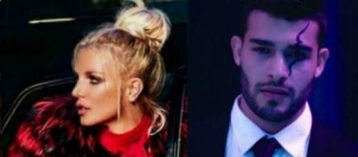 #BritneySpears esce a cena con il modello di #SlumberParty. #BlastingNews