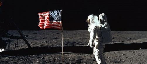 Buzz Aldrin on the moon (NASA)