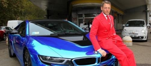 Lapo Elkann apre a Milano il suo Garage Italia Customs