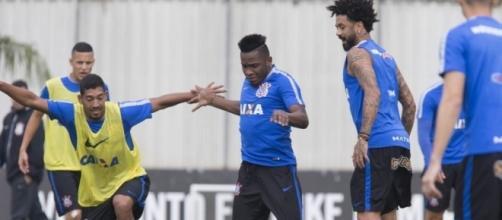 Treino do Corinthians para o Campeonato Brasileiro