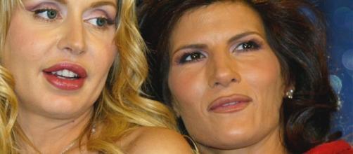 Valeria Marini e Pamela Prati vallette a Sanremo 2017