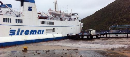 Vulcano, eseguite le riparazioni al porto dopo l'incidente di ieri ... - amnotizie.it
