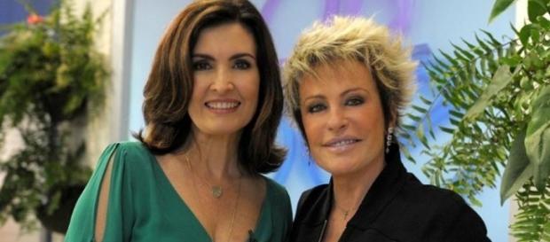 As duas apresentadoras teriam começado uma guerra