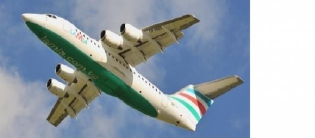 Avião da Lumia que levava o time da Chapecoense