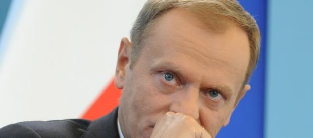 Donald Tusk, possibly hiding a laugh. (Creative Commons. Blasting News Library)
