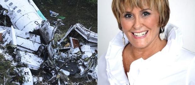 Márcia fala sobre acidente com avião