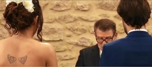 Tiffany et Thomas à la mairie pour leur union solennelle