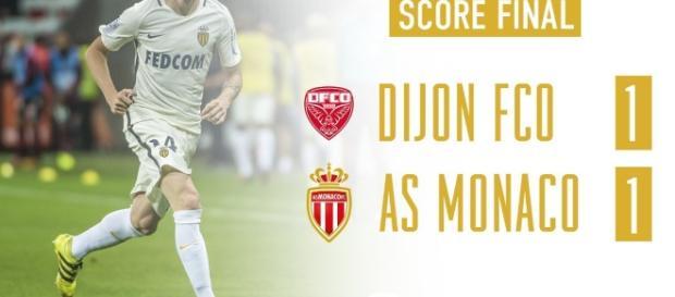 Un but de Sammaritano offre un point à Dijon face à Monaco !