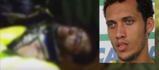 Zagueiro Neto é resgatado com vida