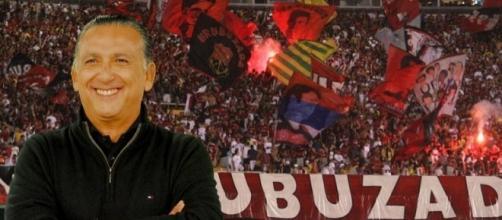 Galvão Bueno declarou no programa Altas Horas o seu amor ao Flamengo