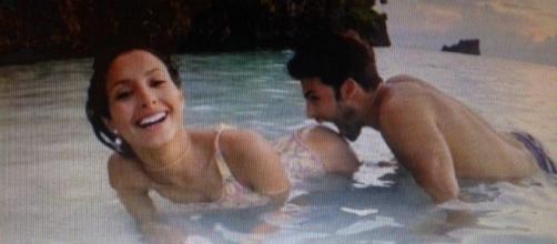 Mariana Rodriguez con il fidanzato Filippo Di Renzo