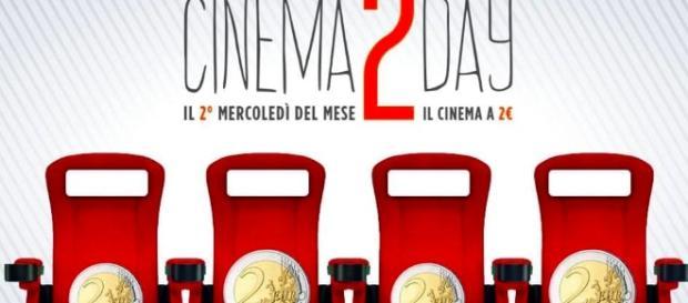Cinema2Day cinema a 2 euro. Scopri le sale aderenti.