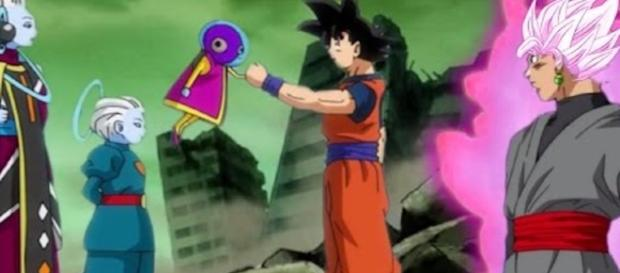 GOKU Y ZENO-CHAN DRAGON BALL SUPER