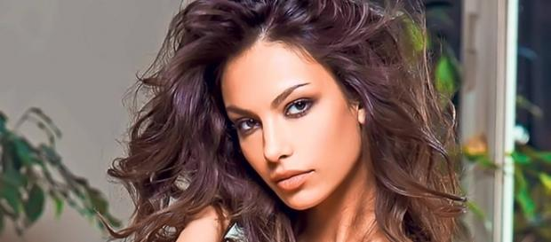 The Romanian model Mădălina Ghenea