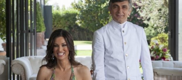 Manuela Arcuri e Vincenzo Salemme