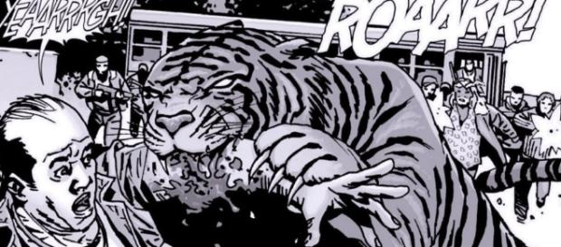 The Walking Dead Season 7: Ezekiel's Tiger May Be Part Animatronic ... - croogles.com