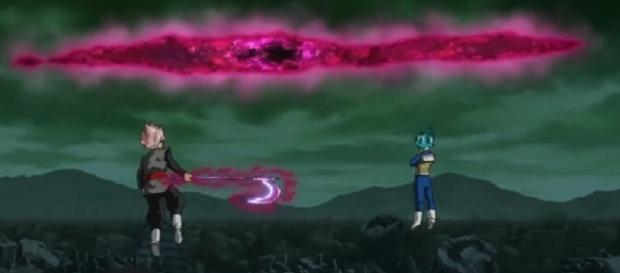 zamasu y vegeta azul dragon ball super