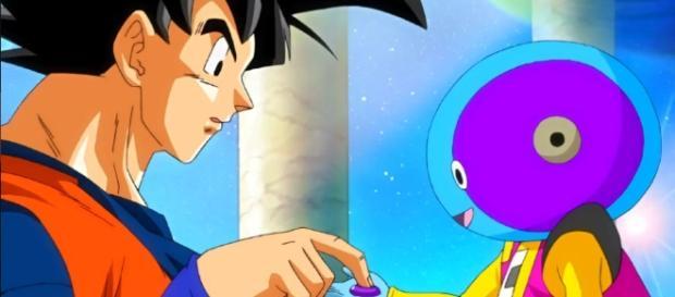 Zeno Sama entregando el botón de ayuda