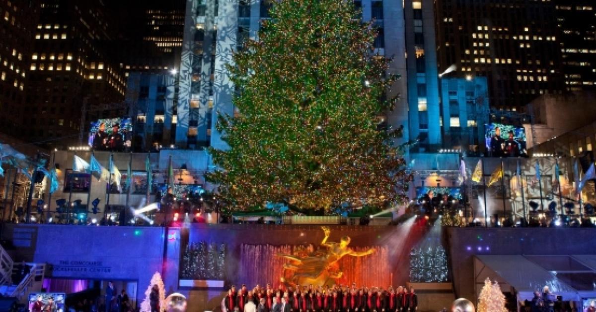 'Christmas In Rockefeller Center' Tree Lighting 2016 Live