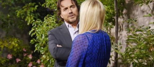 Brooke was stunned by Ridge's romantic gesture