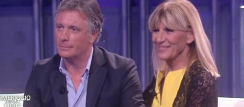 Gemma Galgani e Giorgio Manetti opsiti di Pomeriggio 5