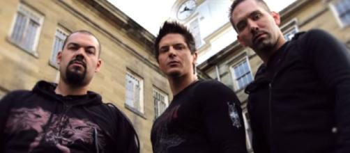 Il team Ghost Adventures: Aaron Goodwin, Zak Bagans e Nick Groff.