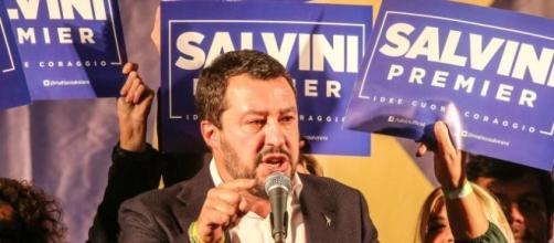 Matteo Salvini si candida a Premier