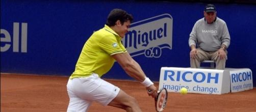 Milos Raonic (Credit: Xavier Rondon Medina - wikimedia.org)