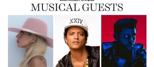 Lady Gaga, Bruno Mars et The Weeknd au Victoria's Secret Show