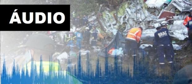 Áudio da tragédia - Montagem/Google