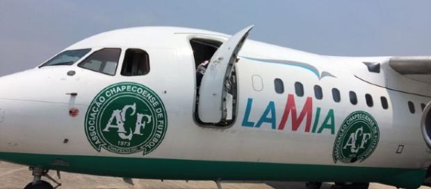 Avião que levaria a delegação da Chapecoense à final da Sul-Americana