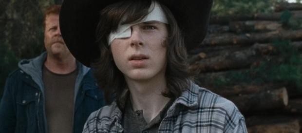 Despejan rumores de Carl Grimes de The Walking Dead