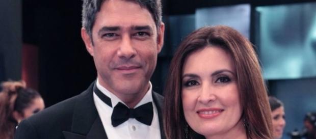 Fátima apoia ex-marido com morte de seu pai